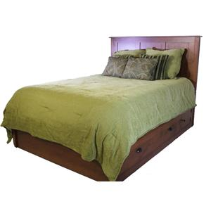 Daniel's Amish Amish Elegance Amish Solid Wood Storage Bed