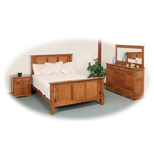 Daniel's Amish Elegance Queen Bedroom Group