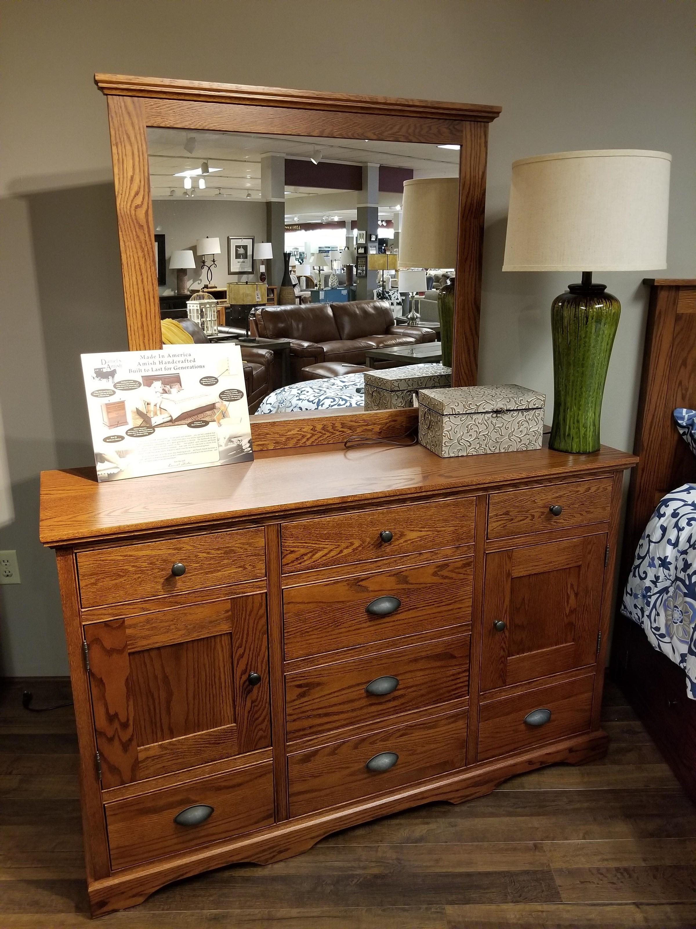 Daniel's Amish Elegance Triple Dresser - Item Number: 35-3532