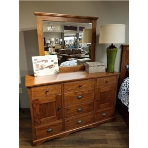 Daniel's Amish Elegance Triple Dresser