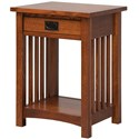 Daniel's Amish Elegance Nightstand - Item Number: 37-3501