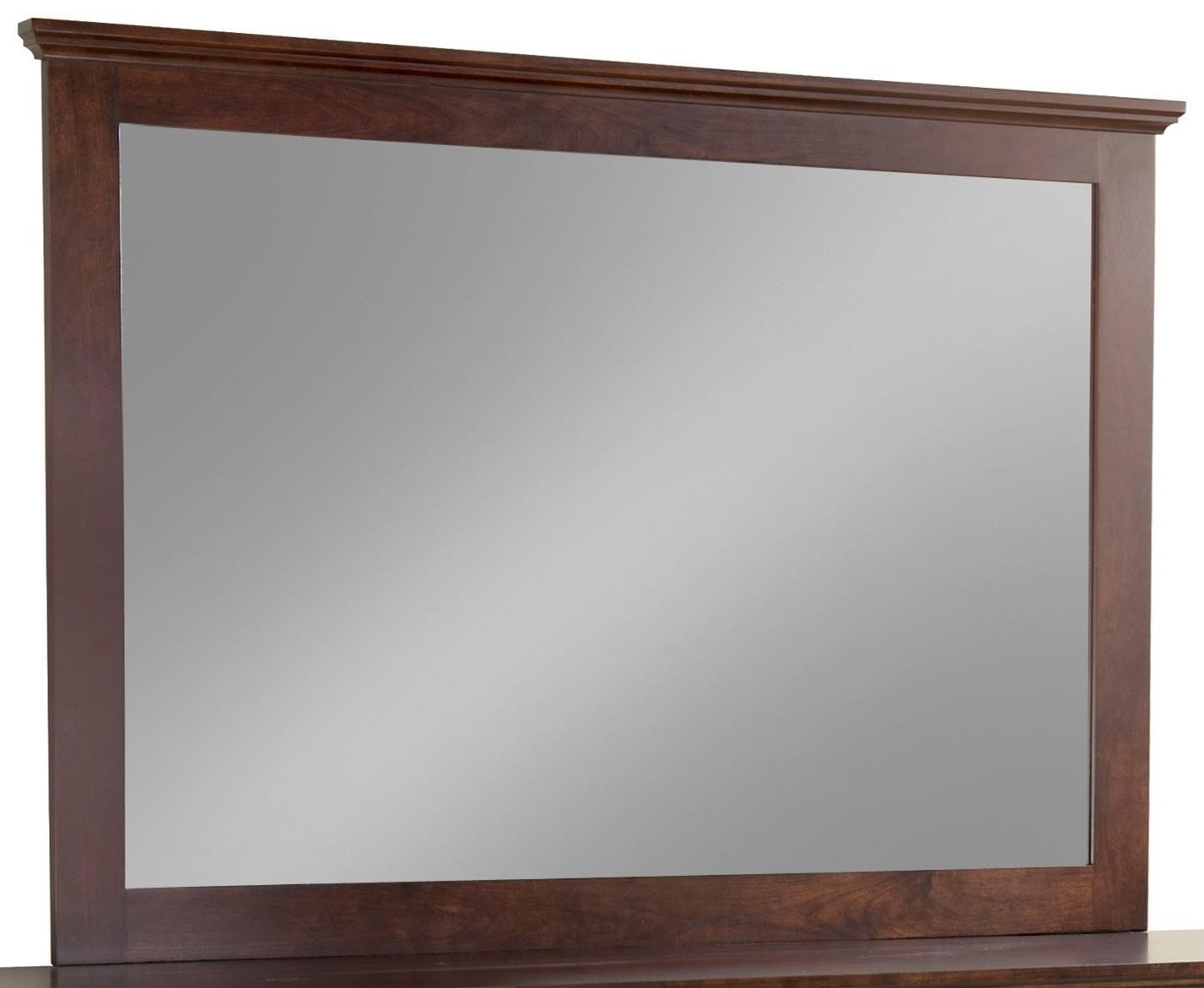 Elegance Tall Wide Mirror by Daniel's Amish at H.L. Stephens
