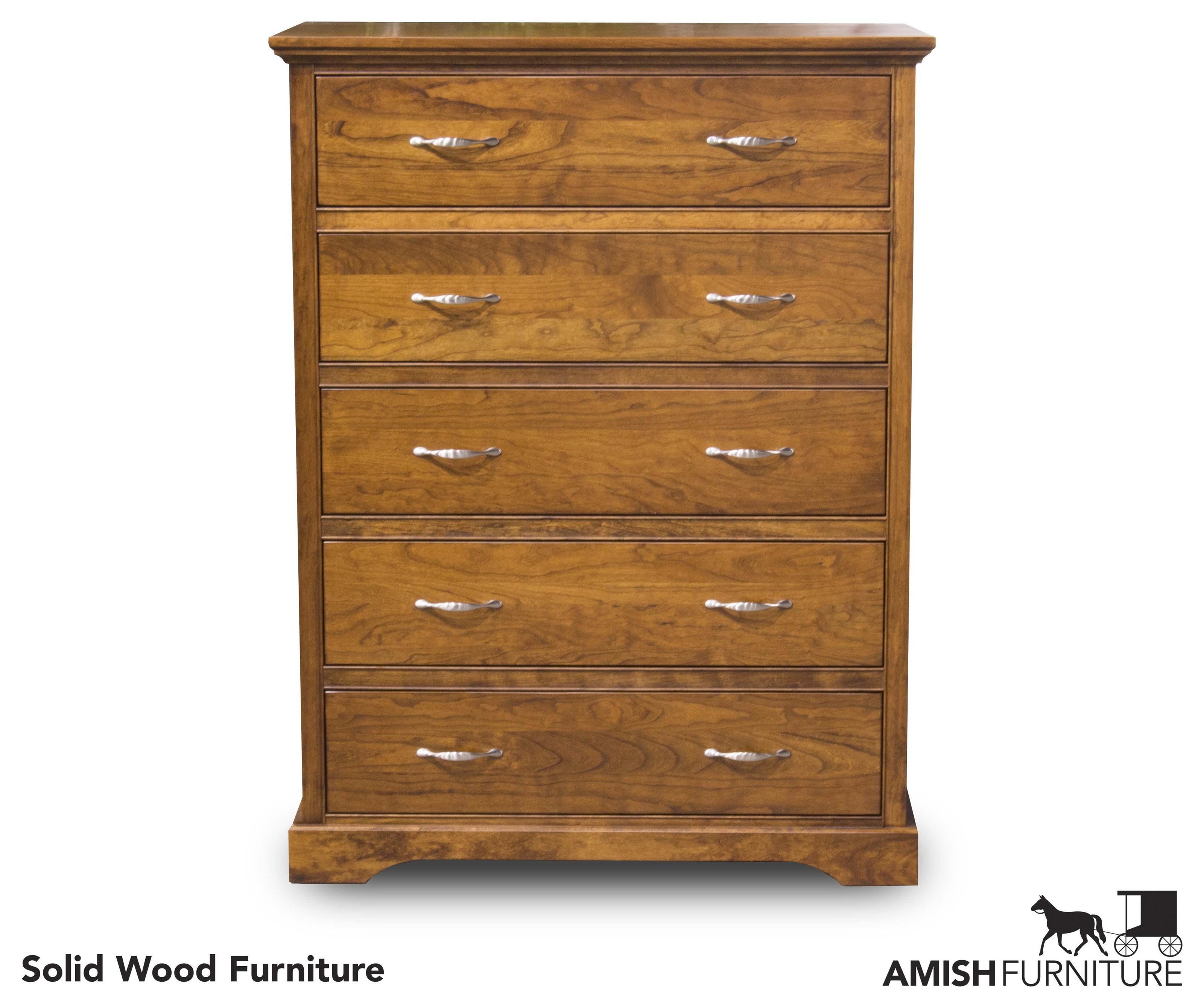 Daniel's Amish Elegance 5 Drawer Chest - Item Number: B1787-5CH
