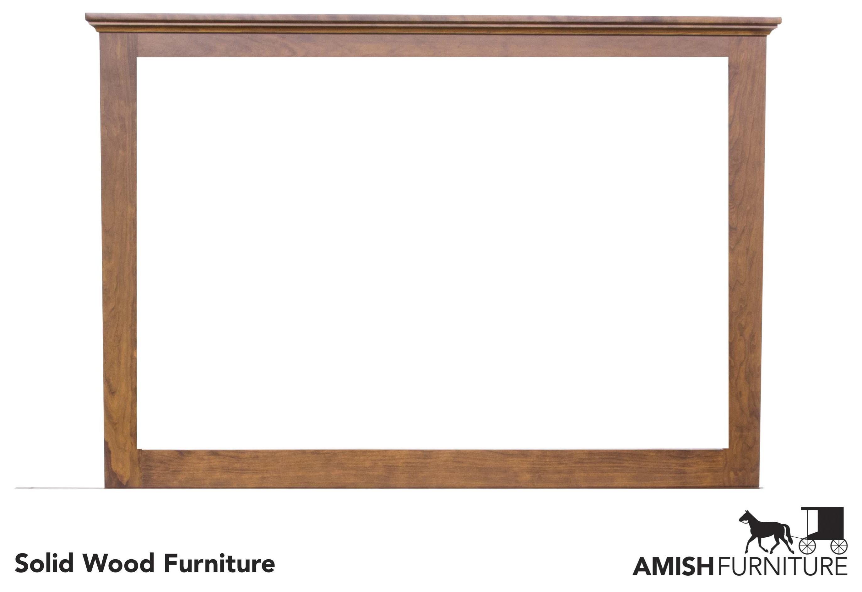 Daniel's Amish Elegance Dresser Mirror - Item Number: B1787-M