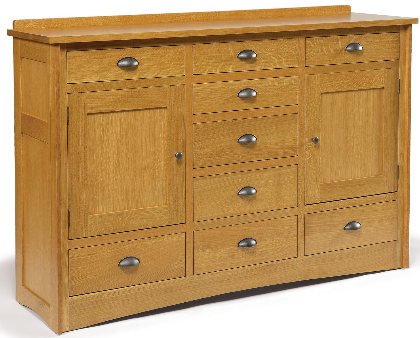 Mission Triple Dresser by Daniel's Amish at Pilgrim Furniture City