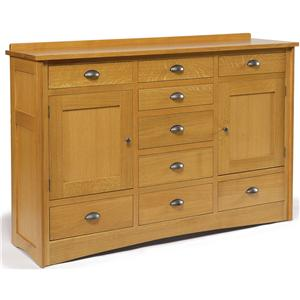 Daniel's Amish Amish Mission Triple Dresser