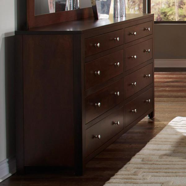 Superior Danielu0027s Amish Modern Dresser   Item Number: 35 3638