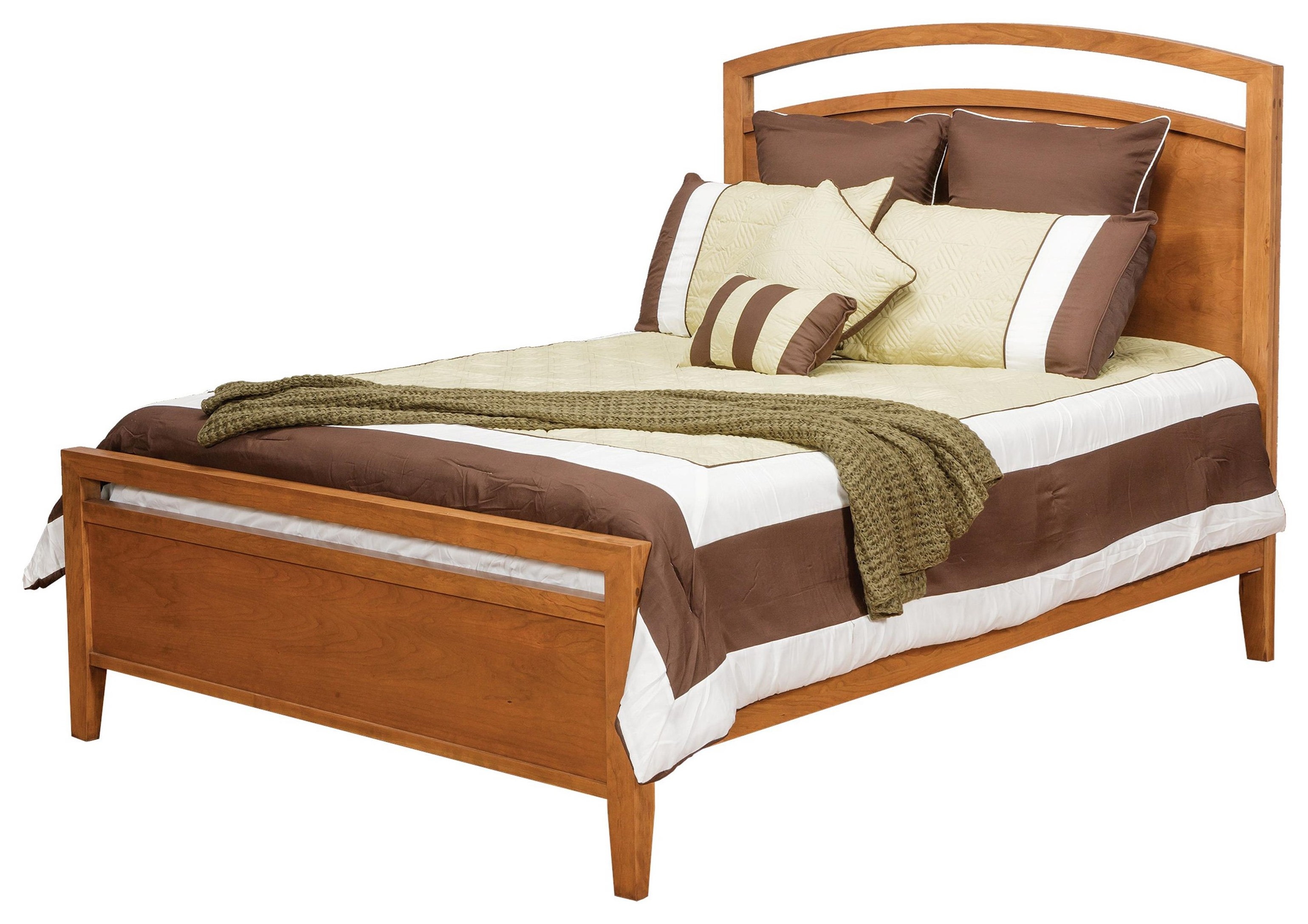 Modern QUEEN NOUVEAU BED by Daniel's Amish at Johnny Janosik