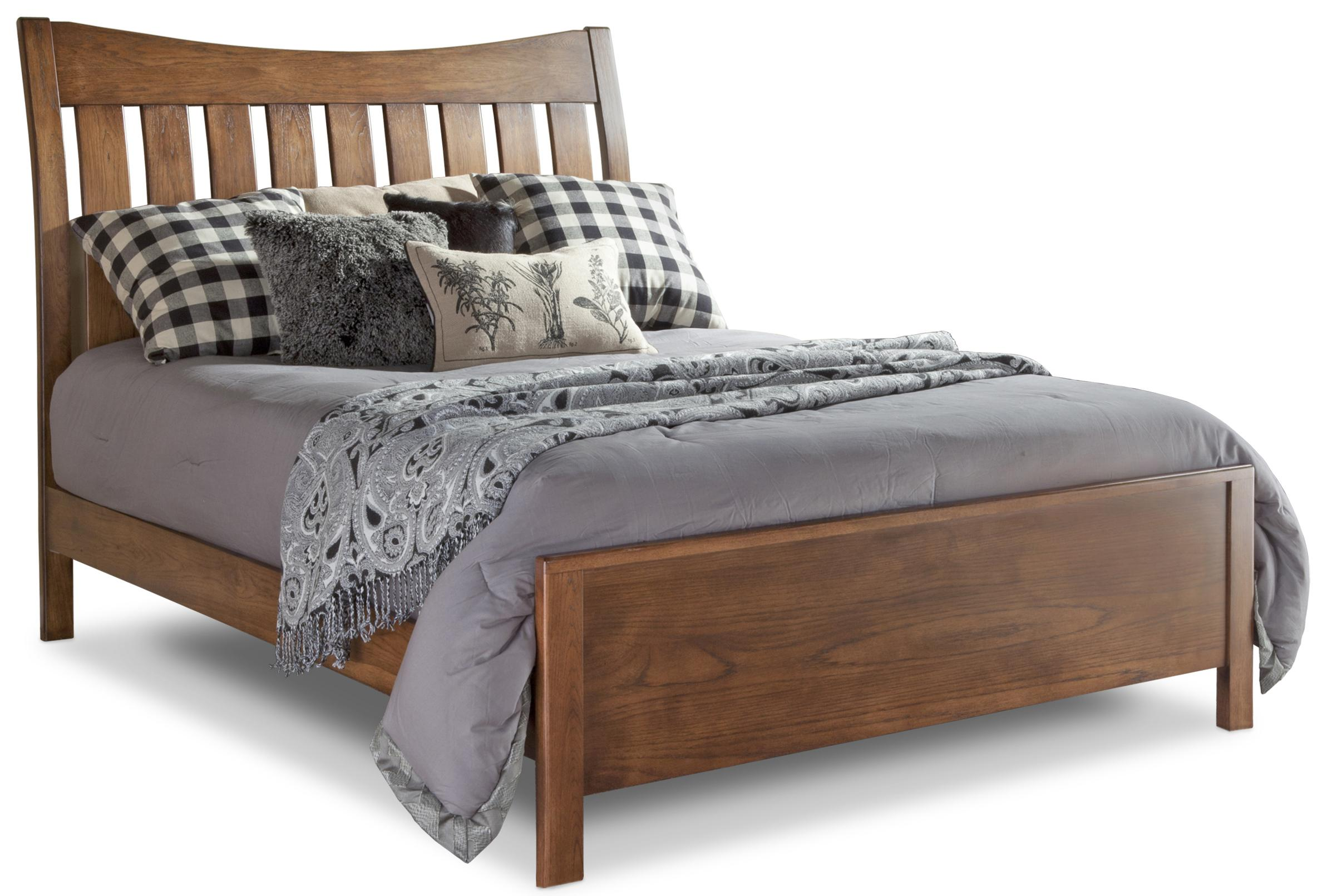 Bedfort DA Queen Bed by Daniel's Amish at Saugerties Furniture Mart