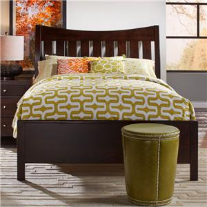 Daniel's Amish Bedfort Solid Wood Queen Bed