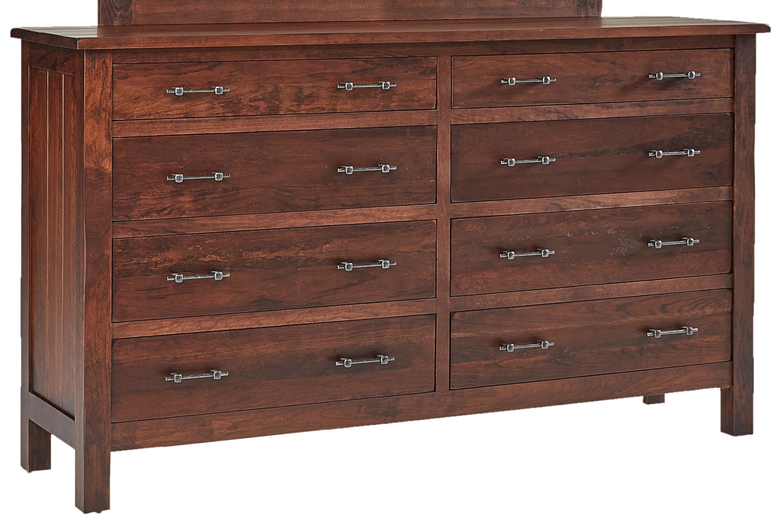 Bryson Dresser by Daniel's Amish at Saugerties Furniture Mart