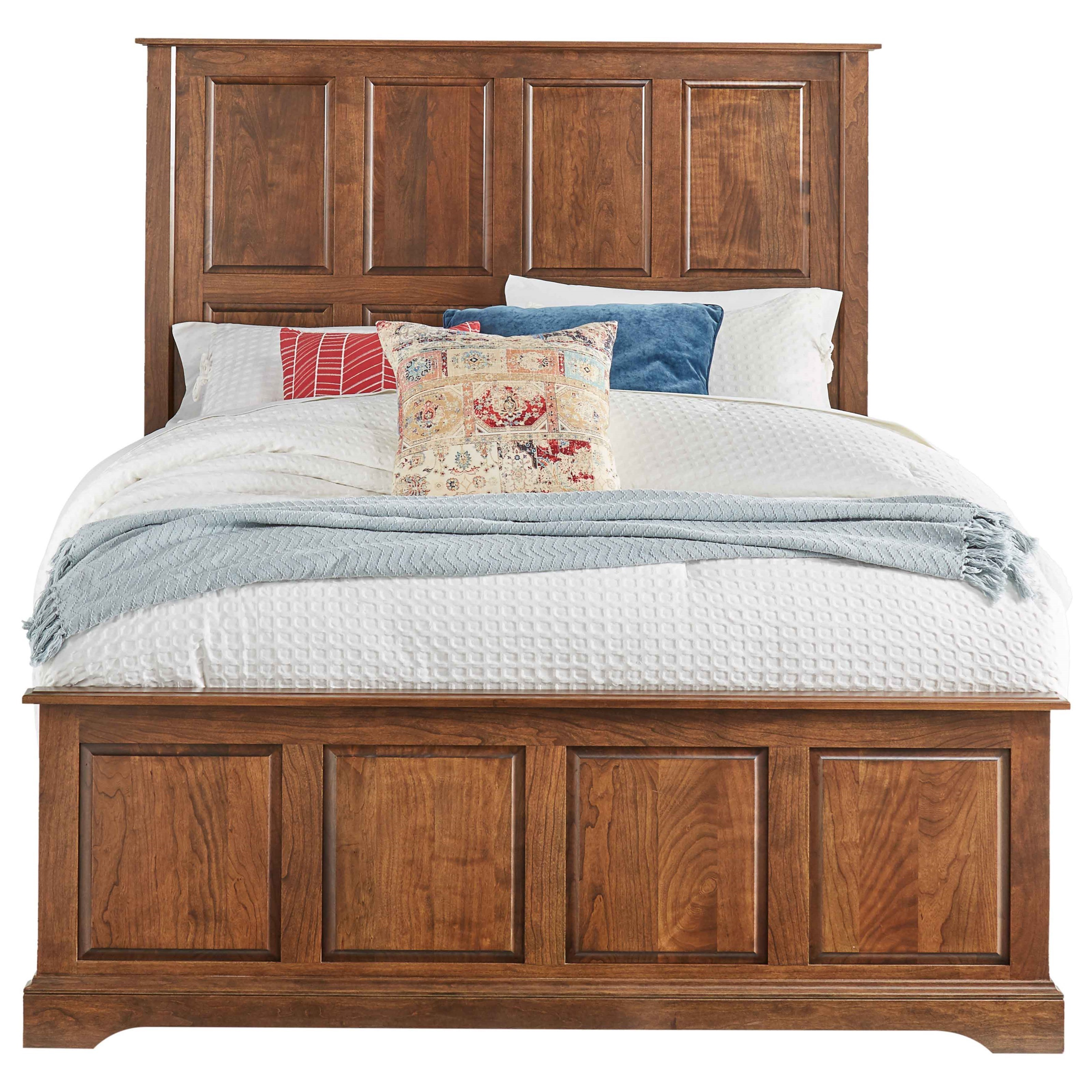 Carriage Queen-Size Bed by Daniel's Amish at Saugerties Furniture Mart