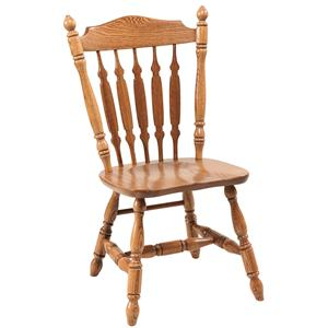 Daniel's Amish Chairs and Barstools Royal Side Chair