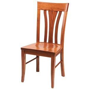 Daniel's Amish Chairs and Barstools Tulip Side Chair