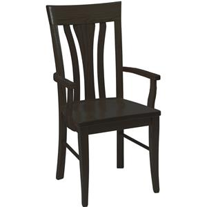 Daniel's Amish Chairs and Barstools Tulip Arm Chair