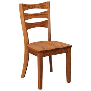 Daniel's Amish Chairs and Barstools Sierra Side Chair