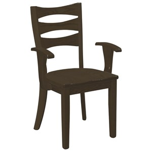 Daniel's Amish Chairs and Barstools Sierra Arm Chair