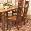 Daniel's Amish Chairs and Barstools Buckeye Dining Side Chair