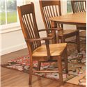Daniel's Amish Chairs and Barstools Buckeye Arm Chair