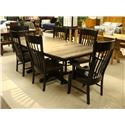 Daniel's Amish Chairs and Barstools Buckeye Arm Chair - Item Number: 13-3602