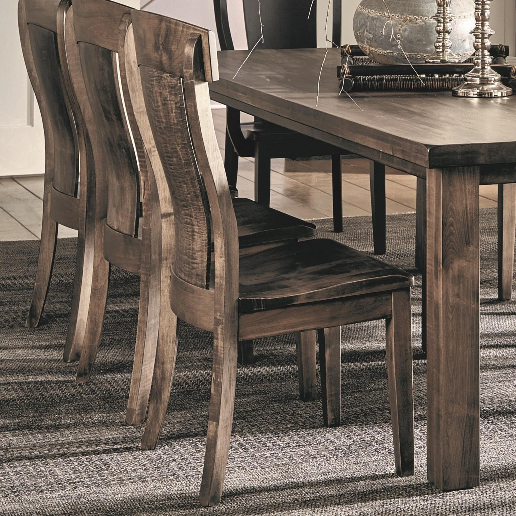 Daniel S Amish Chairs And Barstools Bozeman Side Chair