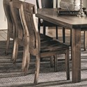 Daniel's Amish Chairs and Barstools Bozeman Side Chair - Item Number: 13-8201-41-108W