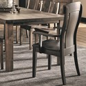 Daniel's Amish Chairs and Barstools Bozeman Arm Chair - Item Number: 13-8202-41-108W