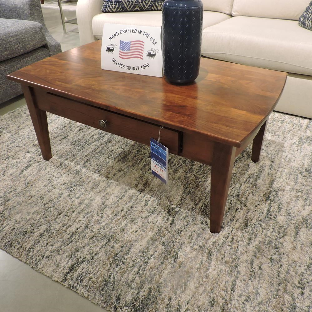 Clearance Coffee Table by Daniel's Amish at Belfort Furniture