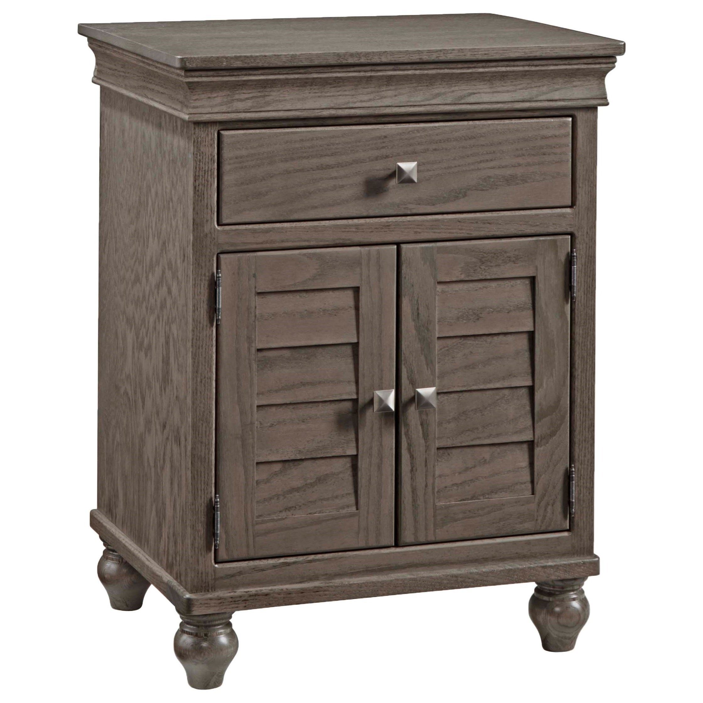 Cottage Nightstand by Daniel's Amish at Saugerties Furniture Mart