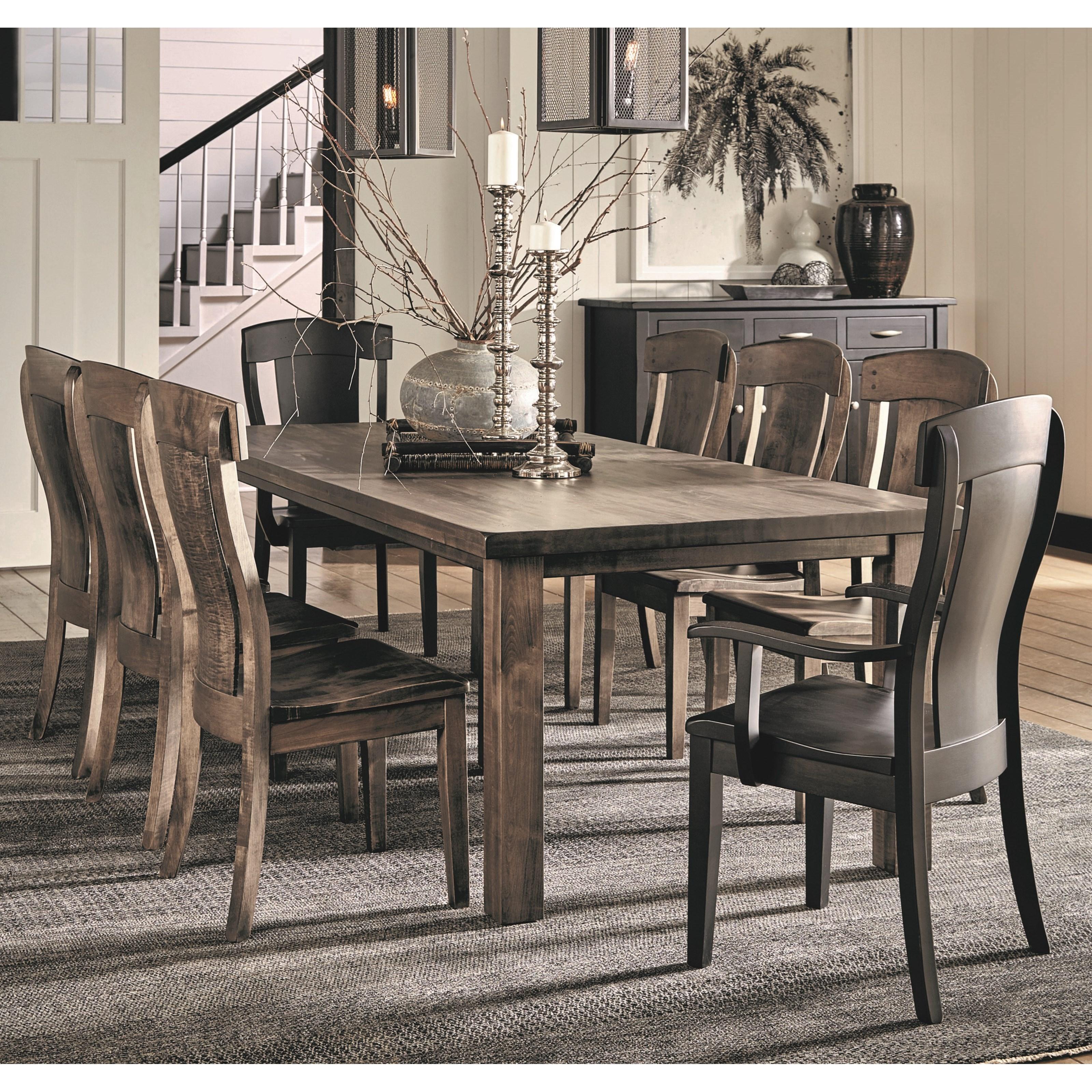 Formal Furniture: Daniel's Amish Eastchester Formal Dining Room Group