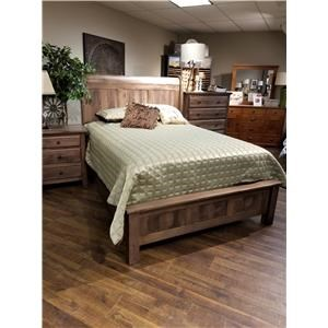 Daniel's Amish Lewiston Queen Sleigh Bed