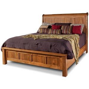 Daniel's Amish Lewiston King Sleigh Bed