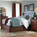 Daniel's Amish Lewiston Queen Storage Bed