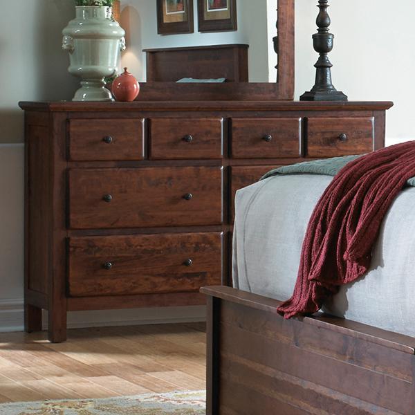 Daniel's Amish Lewiston Dresser - Item Number: 35-4437