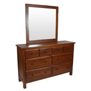 Danielu0027s Amish Lewiston Amish Dresser And Mirror