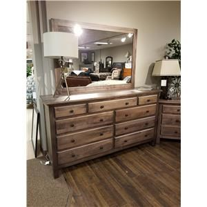 Daniel's Amish Lewiston Tall Wide Mirror