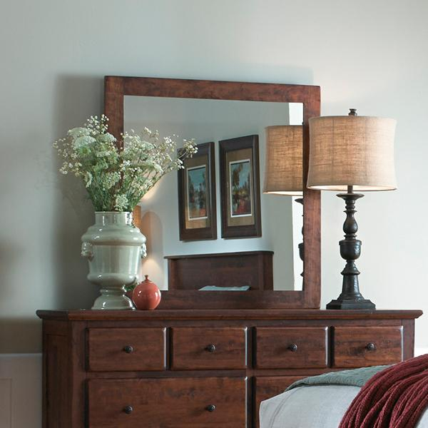 Daniel's Amish Lewiston Dresser Mirror - Item Number: 39-4416