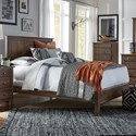 Daniel's Amish Mapleton California King Bed with Low Footboard - Item Number: 30-5015+5035+5005