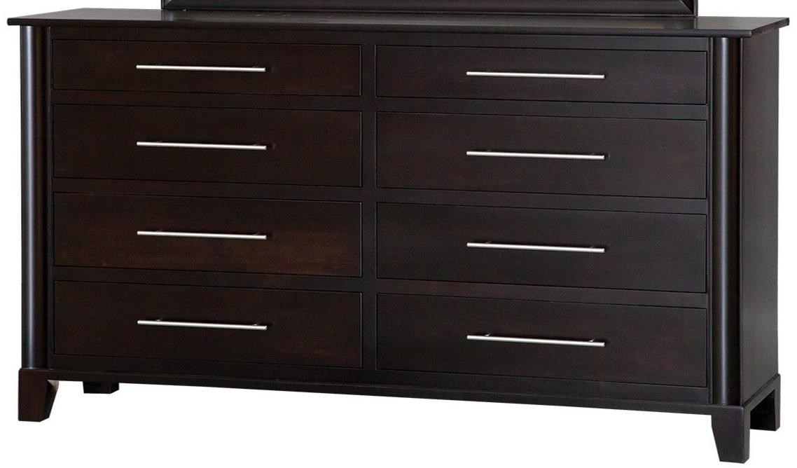 Danielu0026#39;s Amish Metropolitan 8-Drawer Contemporary Double Dresser - John V Schultz Furniture ...