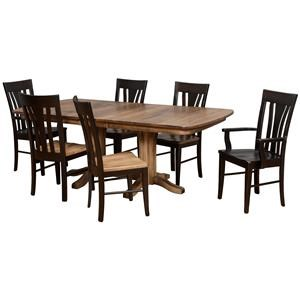 Daniel's Amish Millsdale Customizable Solid Wood Millsdale Table