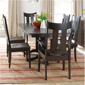 Daniel's Amish Millsdale Table and Chair Set