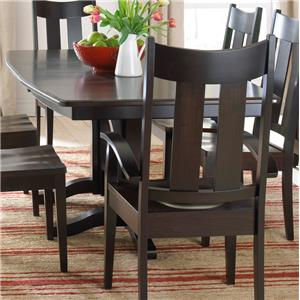 Daniel's Amish Millsdale Double Pedestal Dining Table