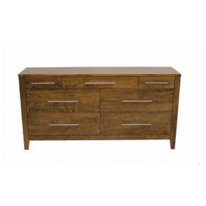 Daniel's Amish Nouveau 7-Drawer Solid Cherry Dresser