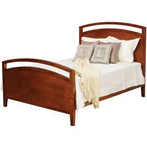 Daniel's Amish Nouveau Queen Noveau Bed