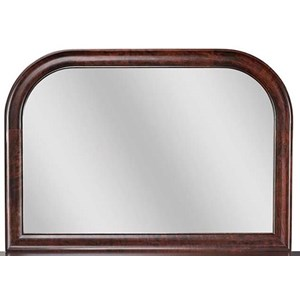Daniel's Amish Paris Tall Wide Mirror