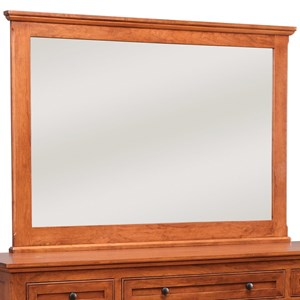 Daniel's Amish Regal Tall Wide Mirror