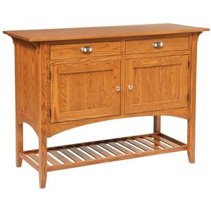 Daniel's Amish Dining Storage Mission Sideboard