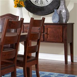 Daniel's Amish Dining Storage Sideboard