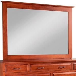 Daniel's Amish Simplicity Tall Medium Mirror