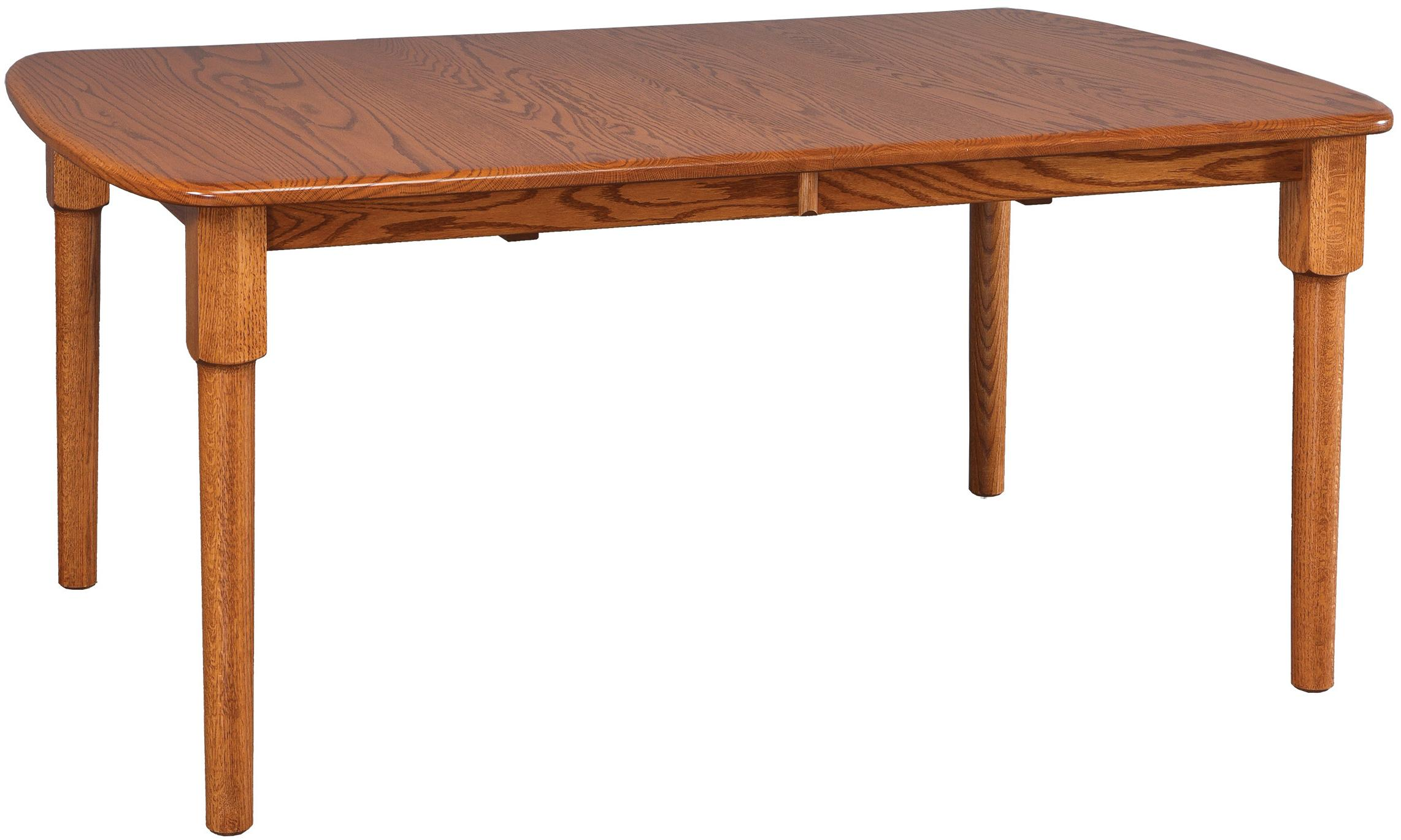 Daniel 39 s amish tables solid wood rectangular table john for John v schultz dining room table